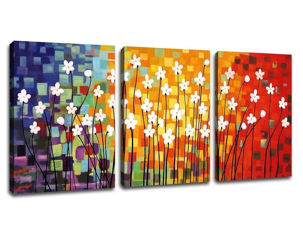 Canvas Wall Art Decor: Abstract Framed Art Prints: Amazon.com