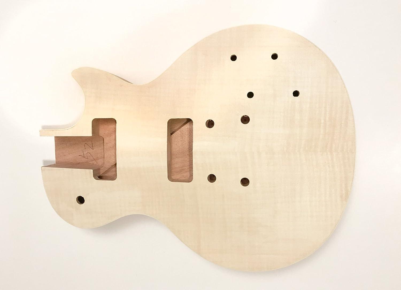 DIY Kit de guitarra eléctrica LP caoba P90 construir su propio Kit de guitarra: Amazon.es: Instrumentos musicales
