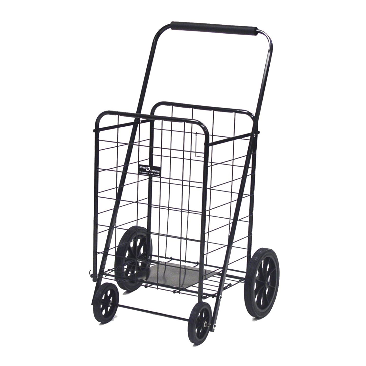 Easy Wheels Super Shopping Cart, Black Quest Products Company 002BK