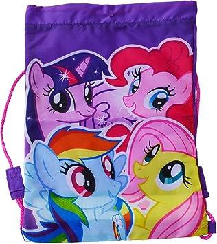 Purple Drawstring Bag My Little Pony