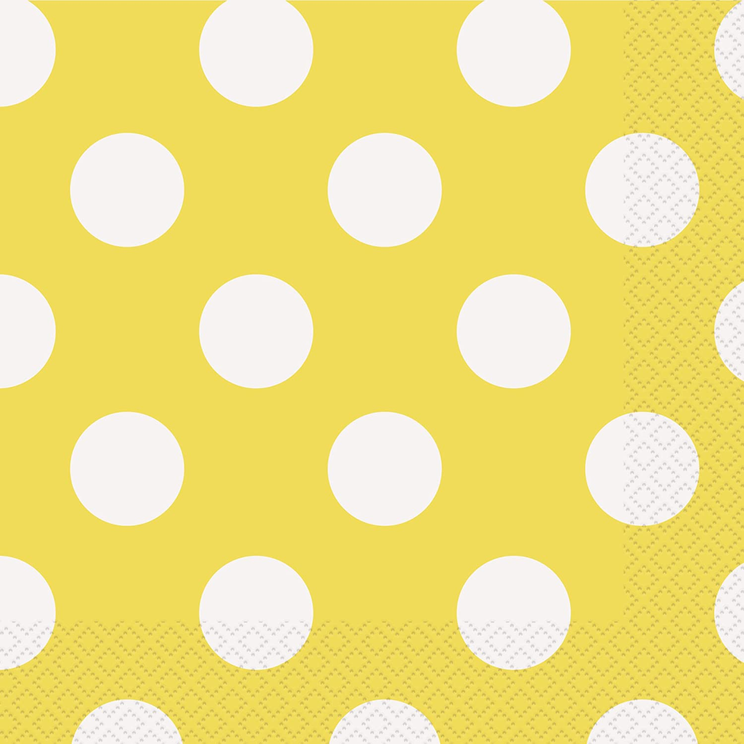 The Finishing Touch Tissue Paper Yellow With Polka Dots 5 Packages New