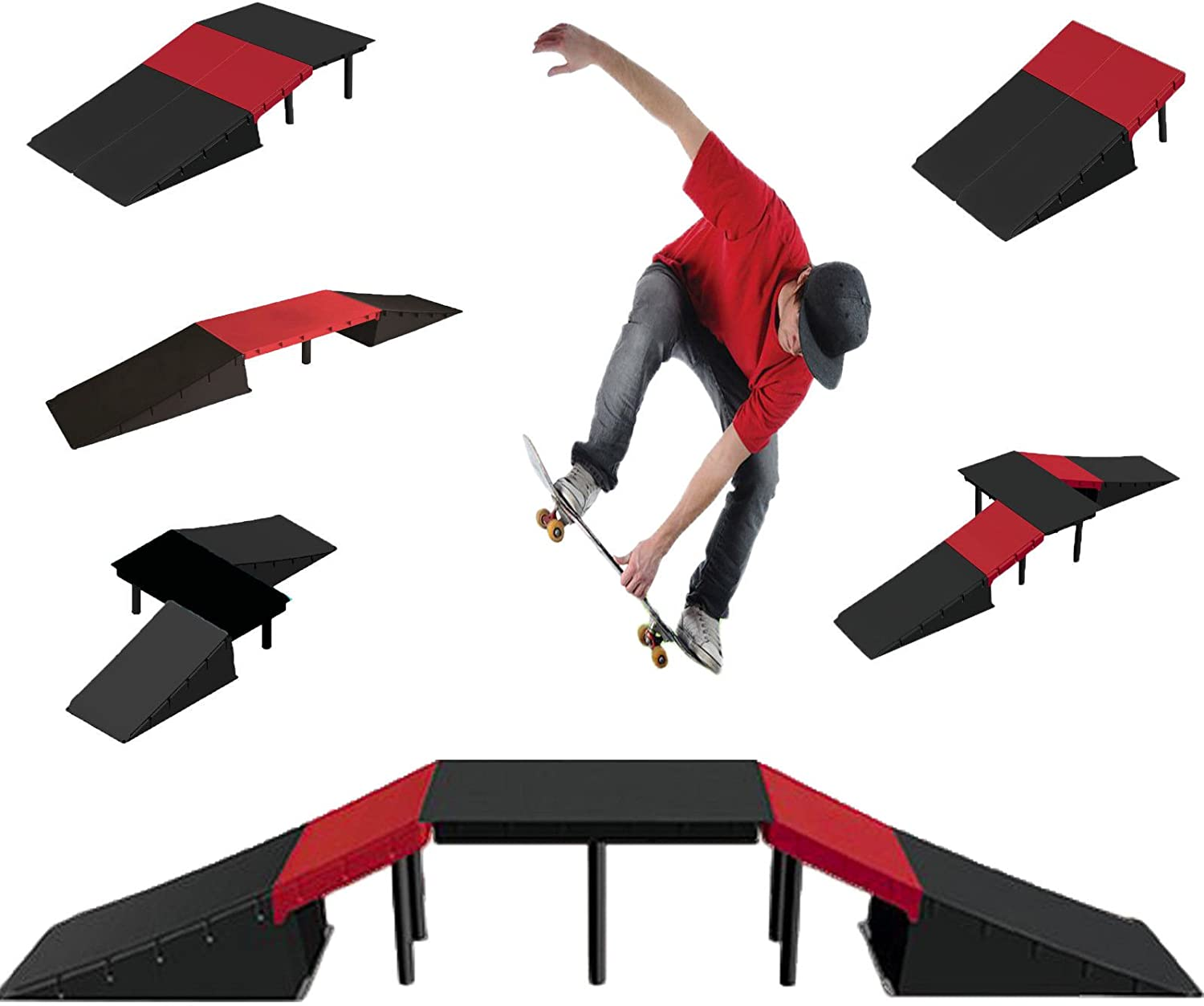 New  KIDS/' TOYS BICYCLE SCOOTER SKATE BOARD RAMP HEIGHT:15.3cm RAMP EDGE M1.