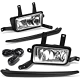 Switch Kit Wiring Clear Lens Bumper Driving Fog Lights Pair 2007-2012 Ford Escape CPW Replacement for