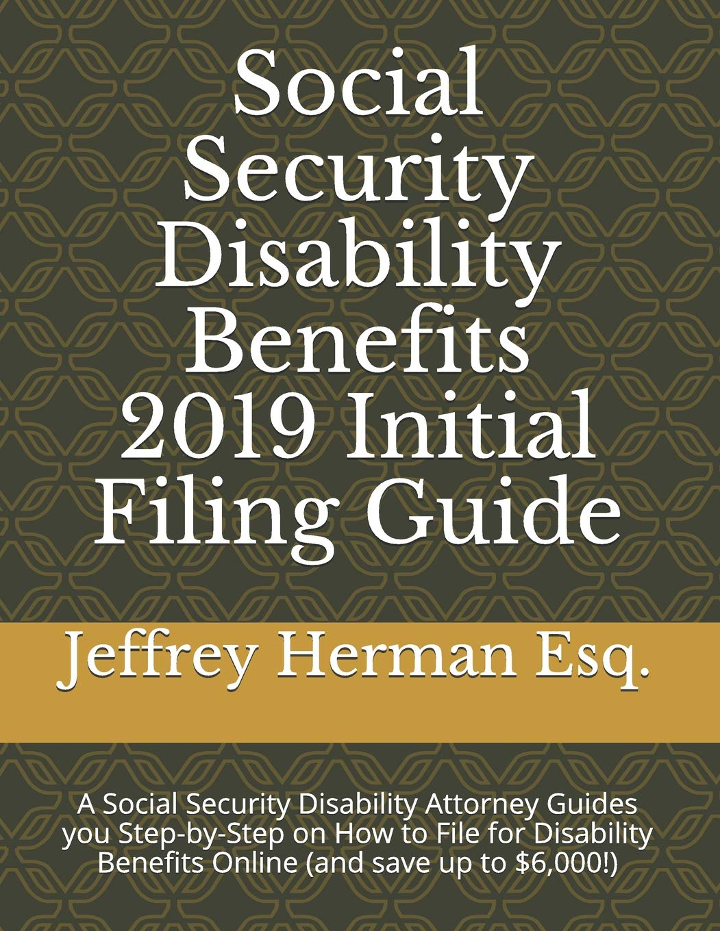 Social Security Disability Benefits 2019 Initial Filing Guide: A