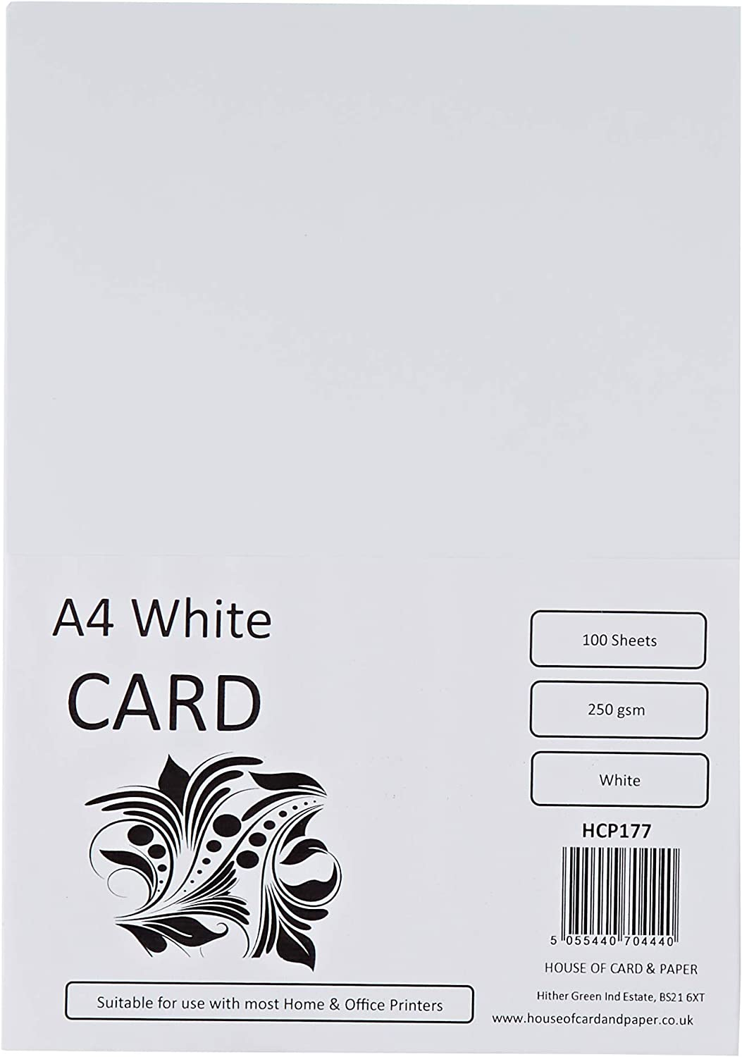 PAPER 250 gsm ALL PRINT INKJET LASER A4 SMOOTH HIGH WHITE PREMIUM QUALITY CARD