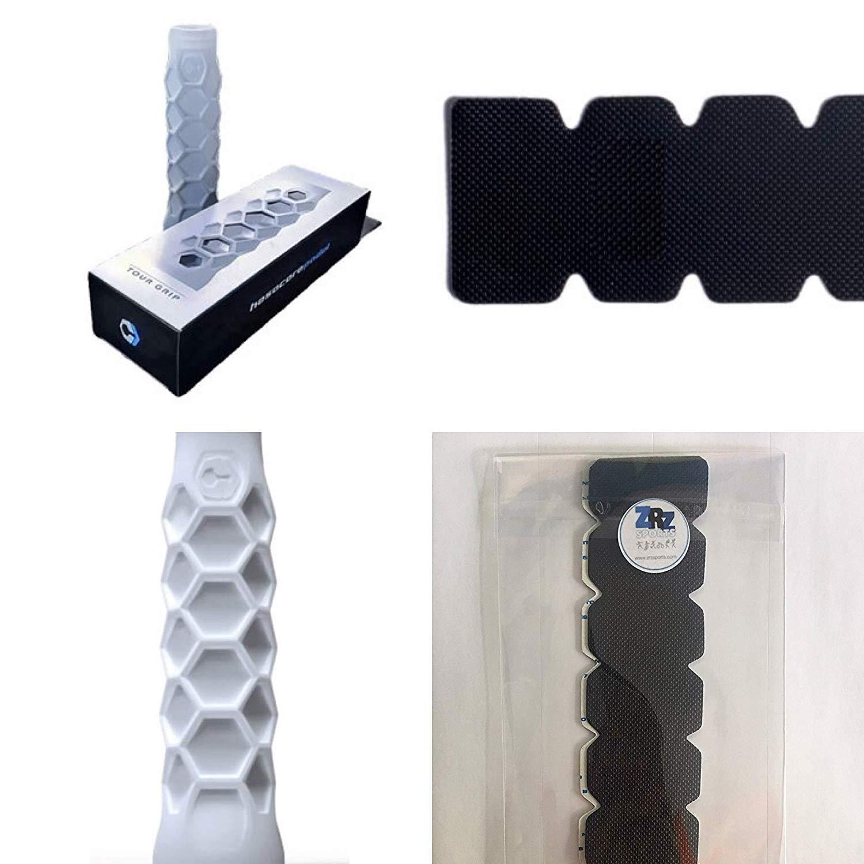 Grip Padel HESACORE Tour Grip + 1 Unidad Protector Pala de Padel ZRZ Dentado Negro MAS Vendido: Amazon.es: Deportes y aire libre