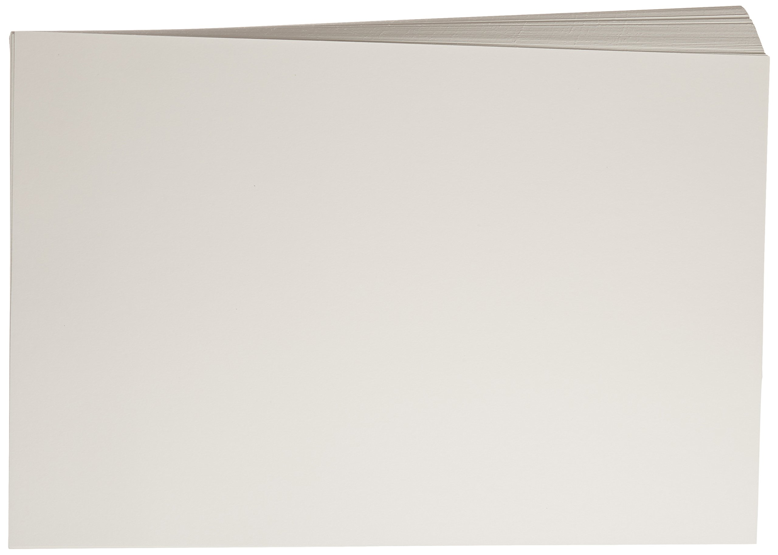 Sax Watercolor Beginner Paper, 90 lbs, 12 x 18 Inches, Natural White, Pack of 100
