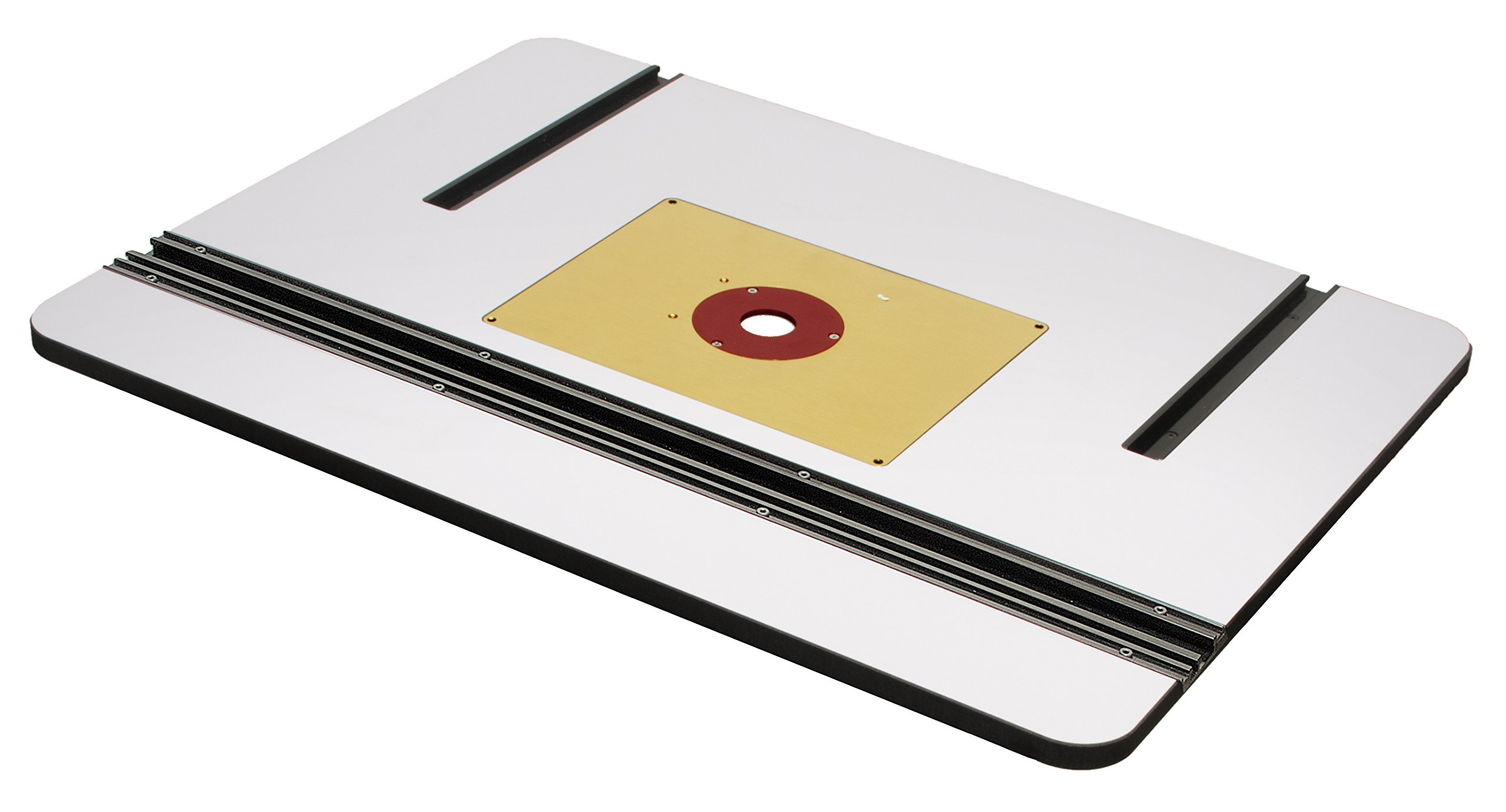 MLCS 9578 Phenolic Router Table Top and Aluminum Insert Plate