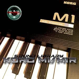 KORG M1/M1R - Gran Fábrica Original y NUEVA Biblioteca de Sonido Creado/Editores en CD o descarga