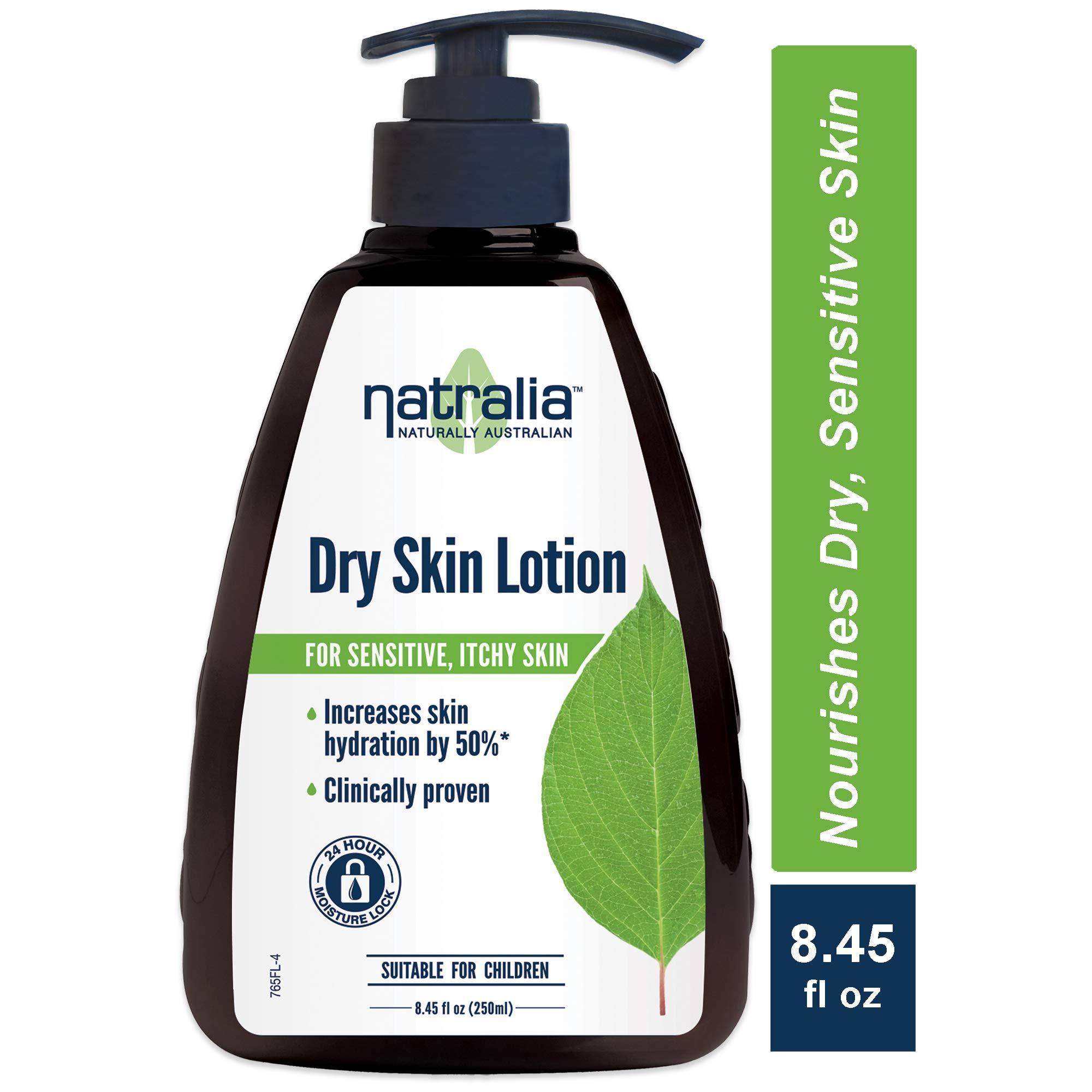Natralia Dry Skin Lotion,Fragrance-Free Hand & Body Lotion, 8.45 Ounce