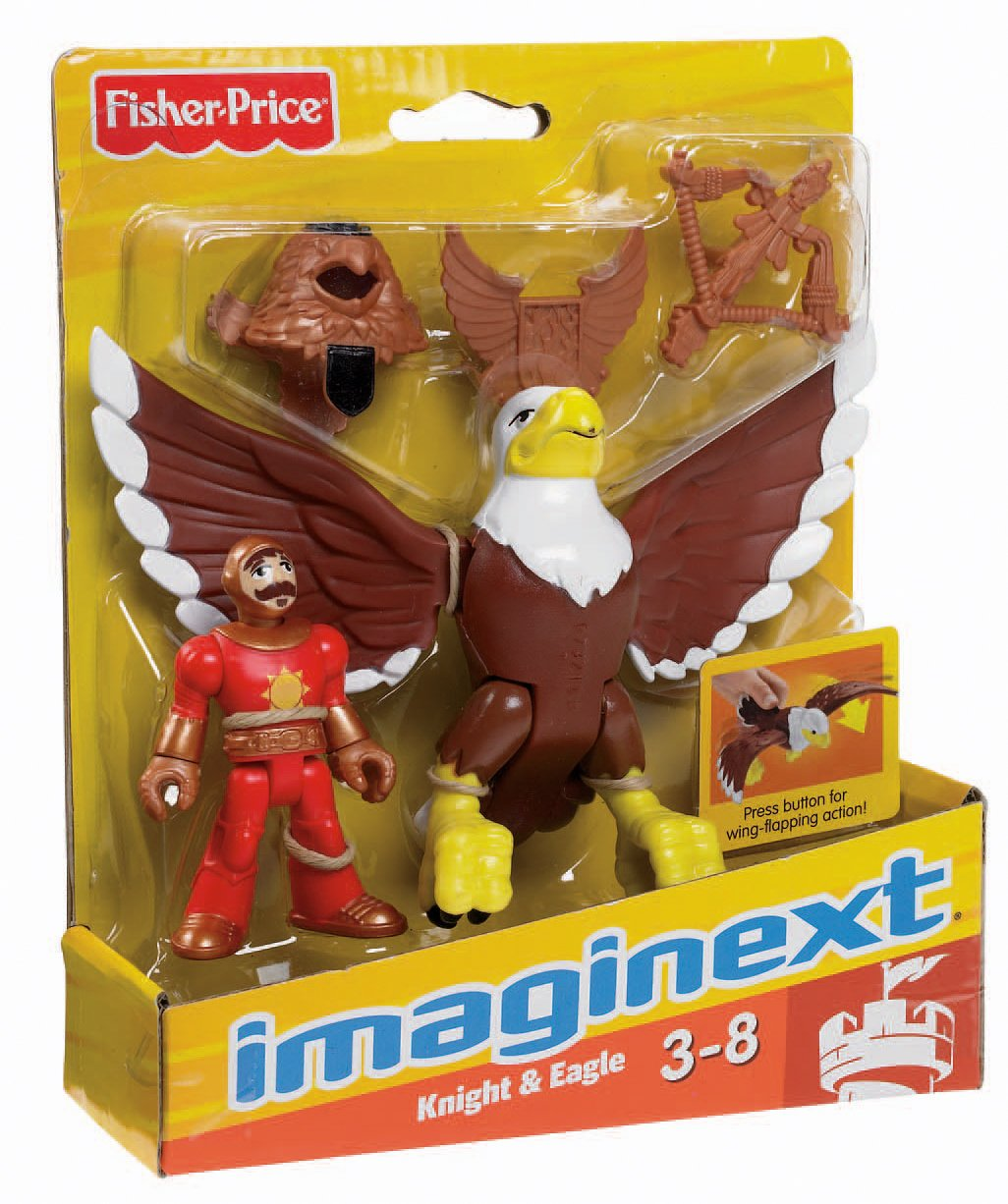 Fisher-Price Imaginext Knight and Eagle Fisher Price W9548