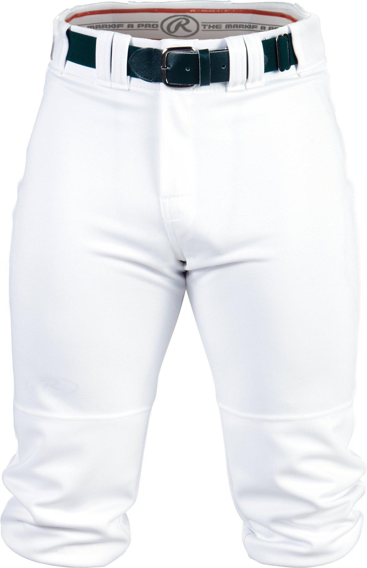 Rawlings Men's Knee-High Pants, Small, White by Rawlings