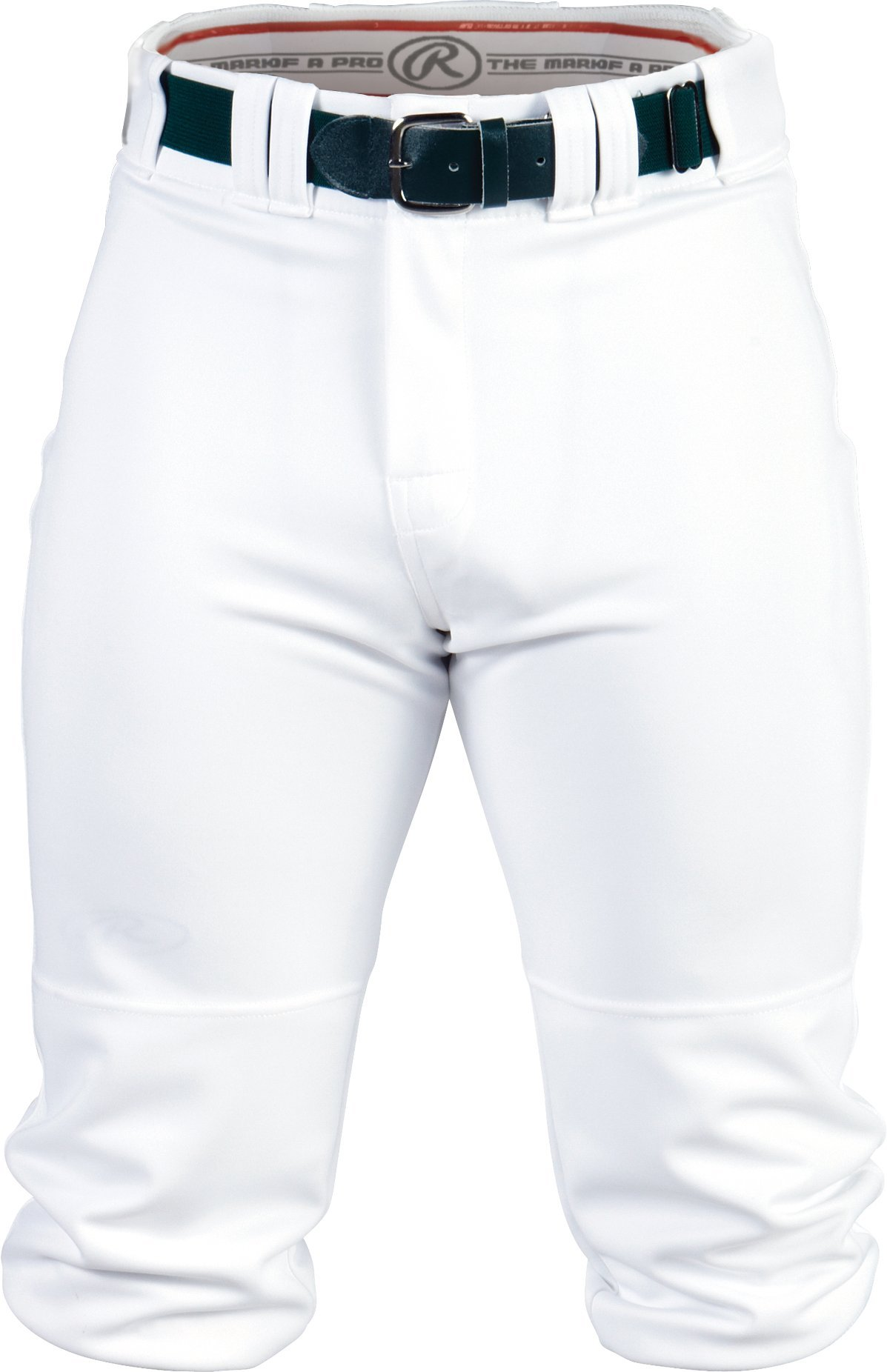Rawlings Youth Knee-High Pants, 2X, White