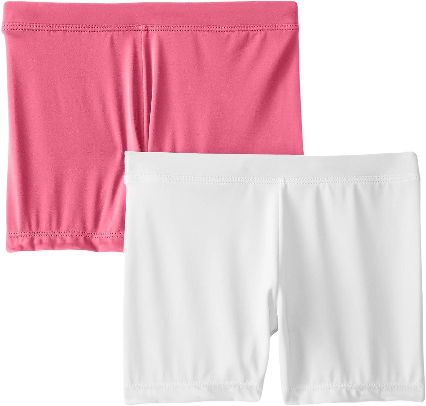 Playground Pals Girls Slim 2 Pack Shorts