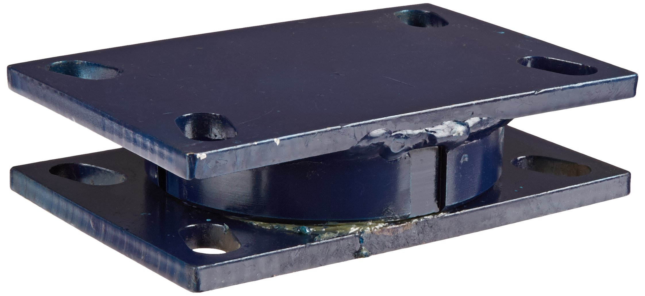 RWM Casters T75-75RT 75 Series Turntable 1-11/16'' High, 4500 Pound Capacity