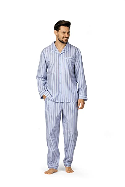 Comte - Pijama - para hombre azul grisáceo 2 mes