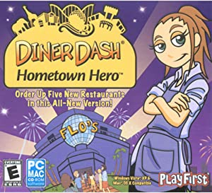Diner Dash Hometown Hero (Jewel Case)