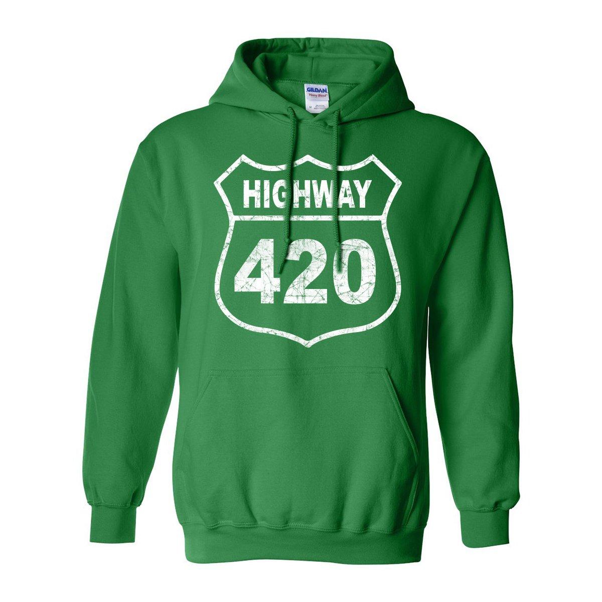 ZeroGravitee Highway 420 Adult Hooded Sweatshirt PA-2004-HD
