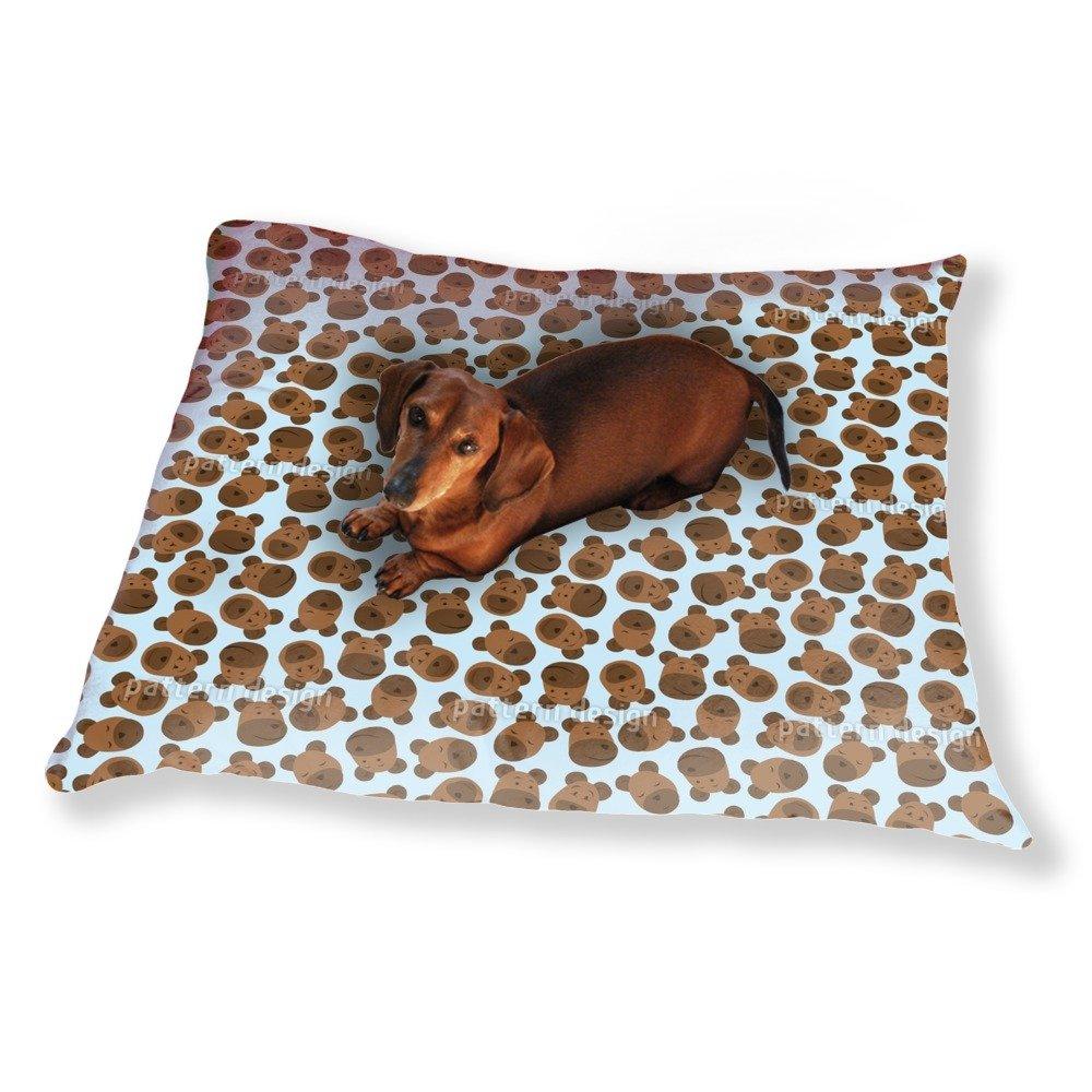 Mister Bear Blue Dog Pillow Luxury Dog / Cat Pet Bed