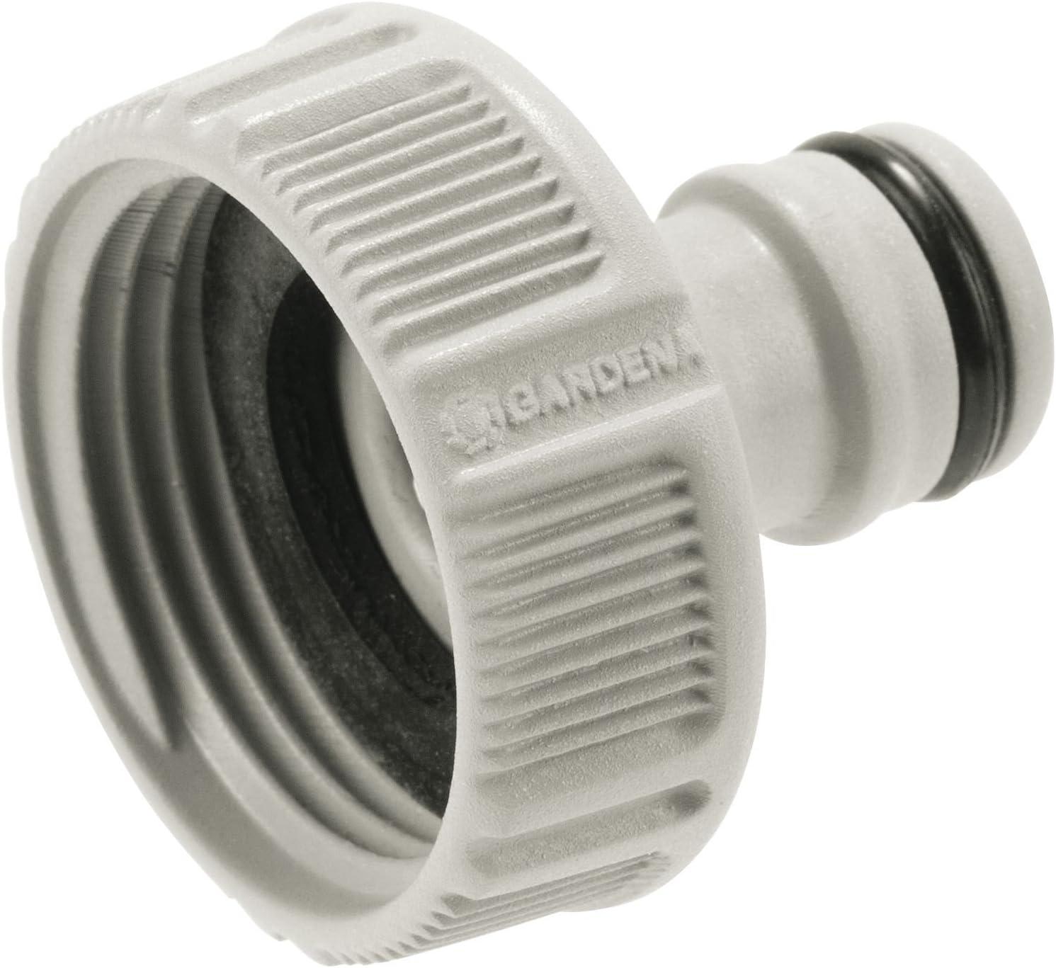 GARDENA Hahnverbinder 21 mm 18200 G 1//2