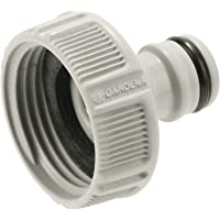 """GARDENA 18202-20A kraanaansluiting 33,3 mm (G 1""""): Aansluiting voor waterkranen met schroefdraad, waterdichte verbinding…"""