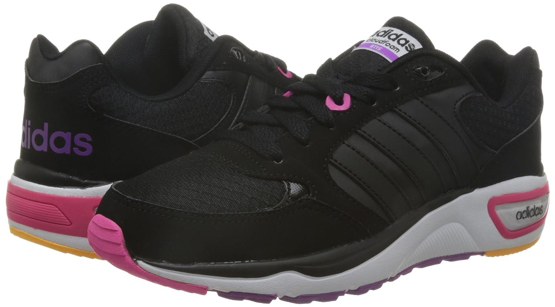 Adidas Damen Cloudfoam 8tis W Turnschuhe  Negro Pursho) (Negbas / Negbas / Pursho) Negro 39b46c
