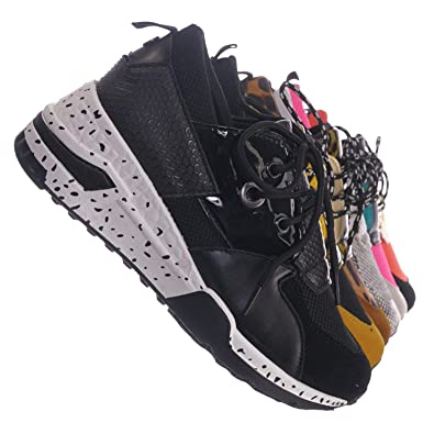 09eb0eeb682 Chunky Daddy Platform Sneaker - Women Jogger Color Block Retro Shoe