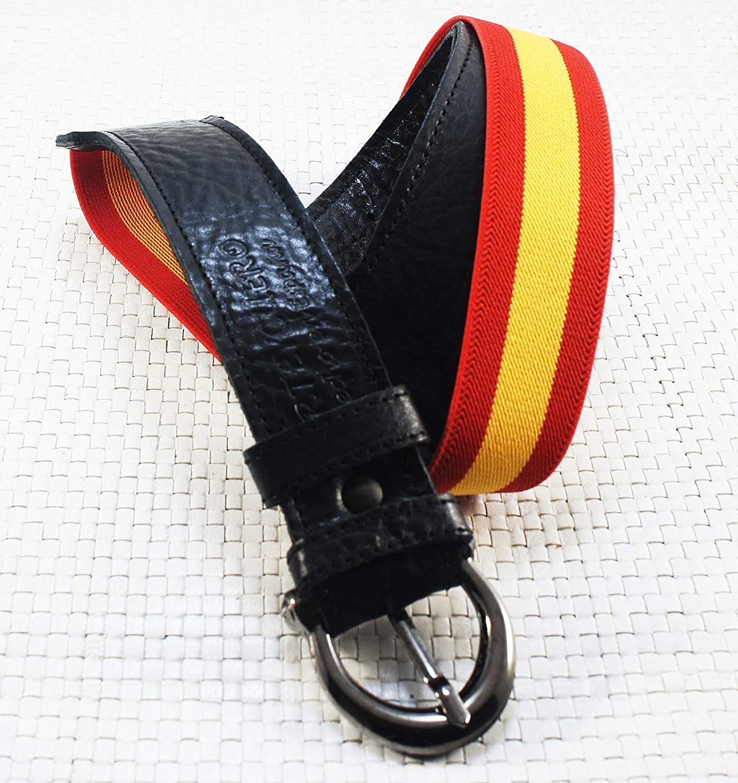 Cinturón caballero bandera España, con regalo de llavero a juego ...