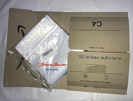 Bolsa de plastico autocierre 50 x 65 cm (50 Unidades ...