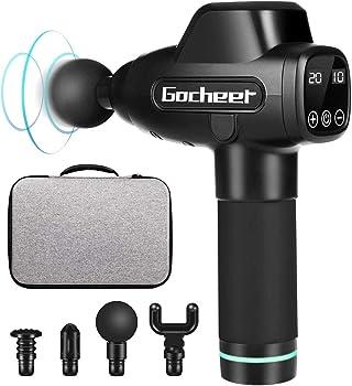 Gocheer 20 Speed Handheld Deep Tissue Massager Portable Massaging Gun
