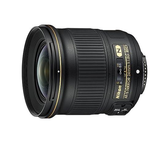 147 opinioni per Nikon Obiettivo Nikkor AF-S 24 mm F/1.8G ED, Nero [Nital Card: 4 Anni di