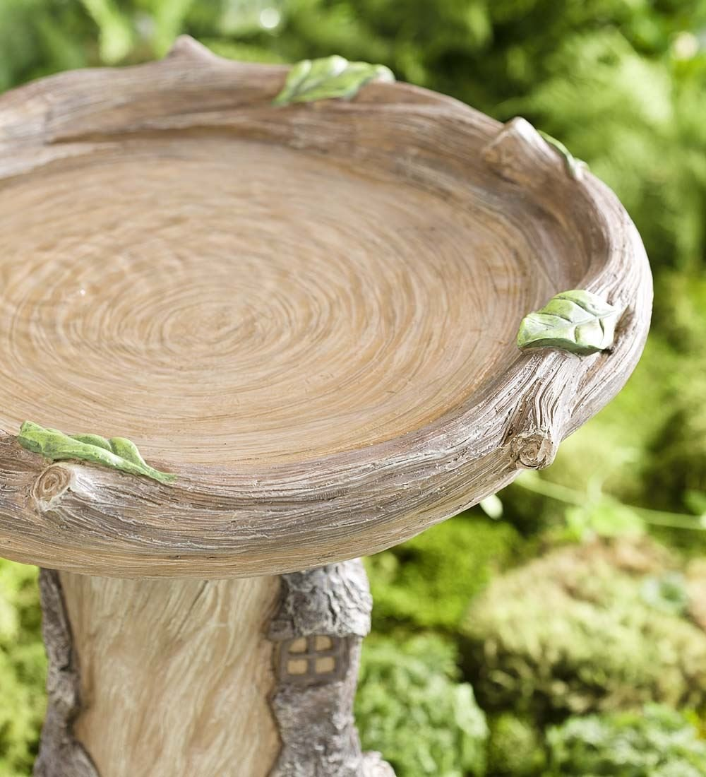 Full-Size Fairy Garden Birdbath by Plow & Hearth