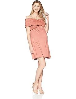 8fc86c4fce0d5 Maternal America Women's Crochet Babydoll Maternity Dress at Amazon ...