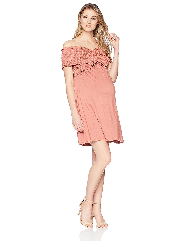 Maternal America DRESS レディース B078X21424 Large|アプリコット アプリコット Large