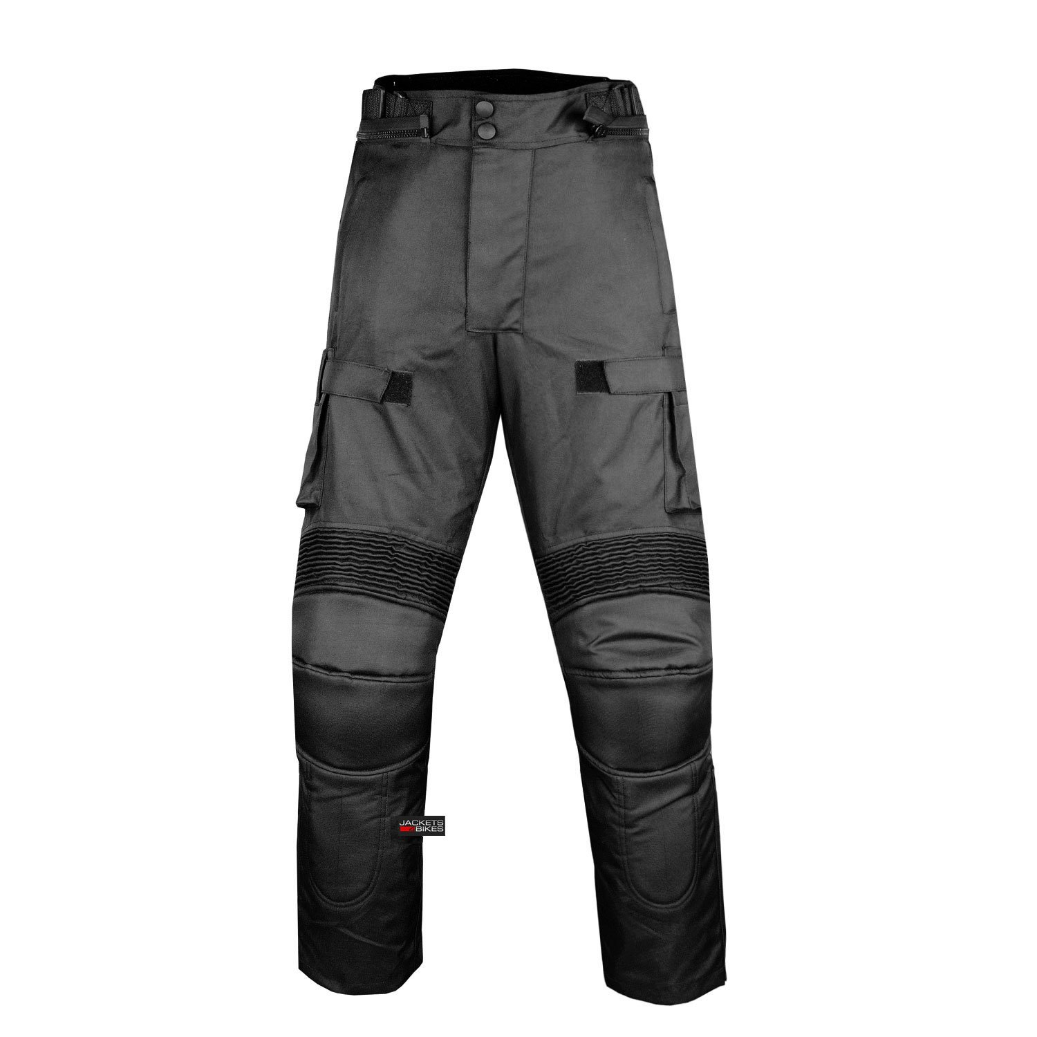 Motorcycle Textile Pants Waterproof Cruiser Touring Riding Armor Black 36w 30i