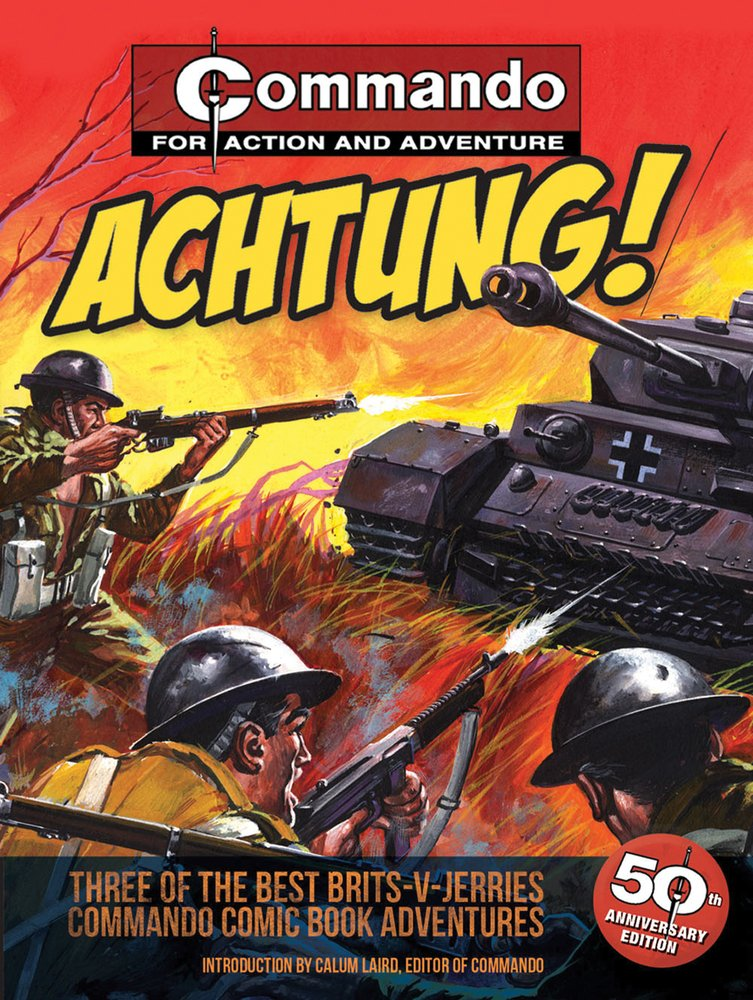 Download Achtung!: Three of the Best Brits-V-Jerries Commando Comic Book Adventures pdf