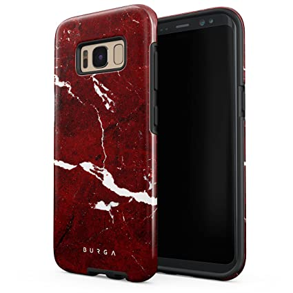 Amazon.com: Burga Samsung Galaxy S8 Plus Funda Negro Y Oro ...