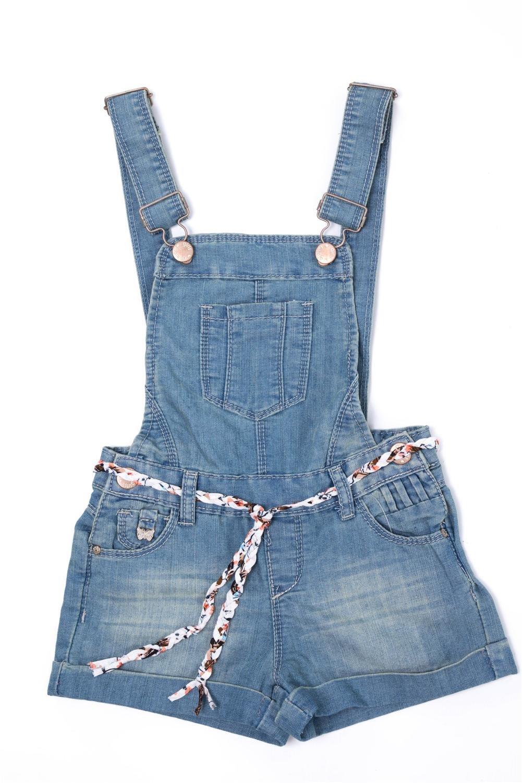 Dolcevida Girl's Cotton Adjustable Overall Shortalls (1 Piece) (10)