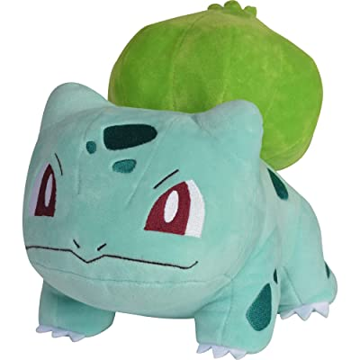 "Pokémon Bulbasaur Plush Stuffed Animal Toy - 8"" - Ages 2+: Toys & Games"