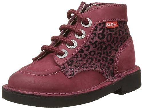 sale retailer 24f26 20c67 Kickers, Anfibi Unisex - Bambini, Rosso (Rot (Bordeaux ...