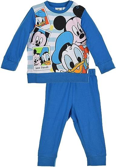 Disney Baby Mickey Mouse Pijama azul azul claro Talla:18 Monate