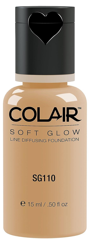 Dinair Airbrush Makeup Foundation | Olive Beige Sg110 | Soft Glow: Matte Finish | Size 1/2 oz.