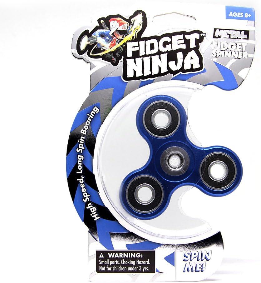 YoYo Factory Fidget Ninja Spinner de Metal - Azul: Amazon.es ...