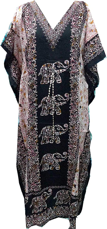 Women/'s Ladies New Summer Floral print Long kaftan dress african style 12 to 24