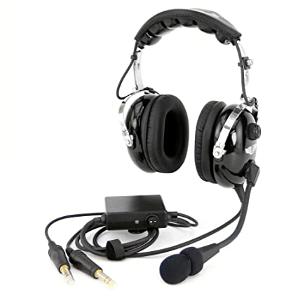 63c0974f289 Image Unavailable. Image not available for. Color  Rugged Air RA950 Stereo General  Aviation Pilot Headset ...