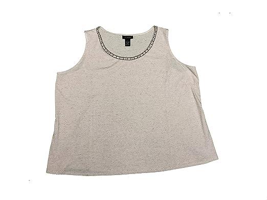 Catherines Black Label Women s Plus Size Sleeveless Tank Top Blouse ...