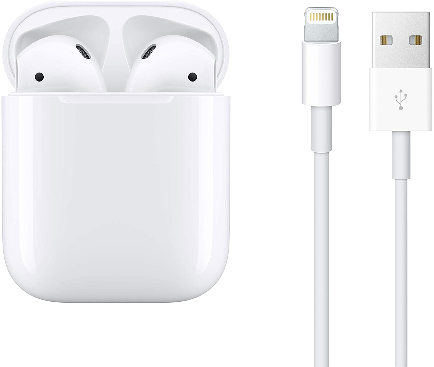 Amazon.com: Apple AirPods with Charging Case