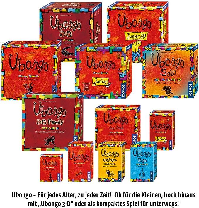Kosmos 6994370 Ubongo Extrem - Juego de encajar piezas (en alemán) , color/modelo surtido: Rejchtman, Grzegorz: Amazon.es: Juguetes y juegos