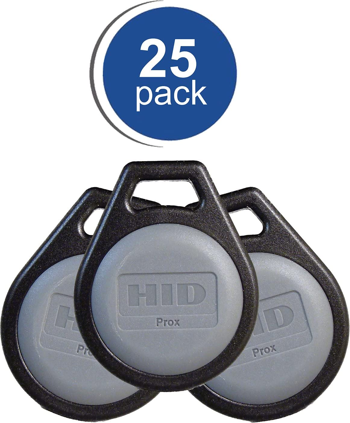 10 Pack RapidPROX Proximity Key Fobs for Access Control H10301 Standard 26Bit Format.