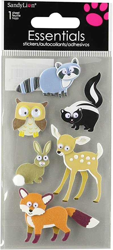 SANDYLION ESSENTIALS NEW HOME MOVING HOUSE  DIMENSIONAL 3D SCRAPBOOK STICKERS